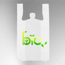 Биоразлагаемые пакеты с лого
