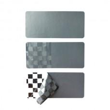 Стикеры изготовленные на основе материала Void Chrome Matt